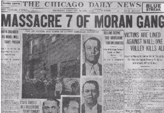 St Valentine S Day Massacre Chicago News Wttw