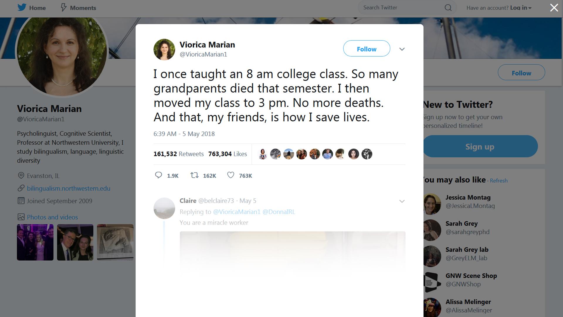 NU Professor's Joke Tweet Goes Viral But Also Sparks Backlash ...