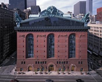 The Harold Washington Library Center, Chicago; courtesy of HBRA Architects Inc.