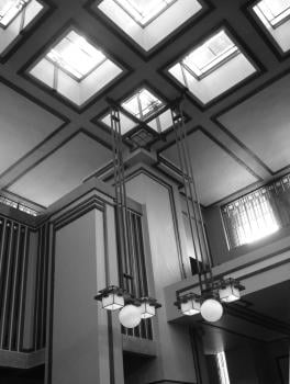 Unity Temple interior; image credit: Vincent Michael