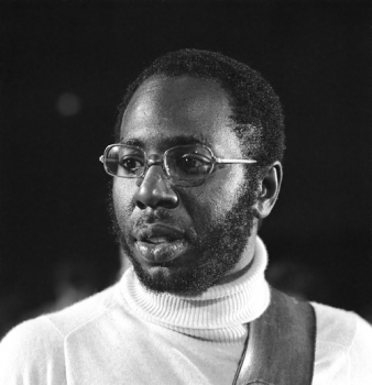 Curtis Mayfield performing for Dutch television in 1972
