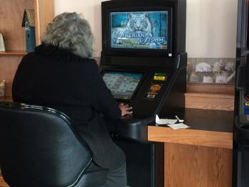 Video gambling cafe