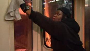 Venus Caston is an ex-offender who makes minimum wage cleaning rail cars