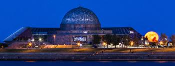 Adler Planetarium; photo by Chris Smith