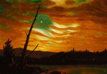 """Our Banner in the Sky"" by Frederic Church, 1861"
