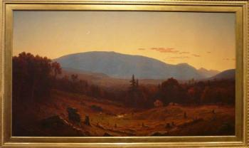 """Hunter Mountain, Twilight"" by Sanford Robinson Gifford, 1866"