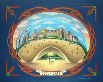 Cloud Gate by Fernando Ramirez. Click image to view photo gallery.