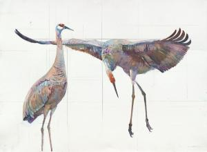 Cranes 2 by Peggy Macnamara. Click image to view photo gallery.