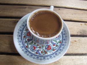 Brewed to perfection, Lindsay's first cup of Turkish coffee in Istanbul/Lindsay Prossnitz