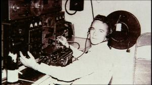Darby at work during the Korean War
