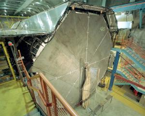 MINOS far detector. Image credit: Fermilab. Click image to view photo gallery.