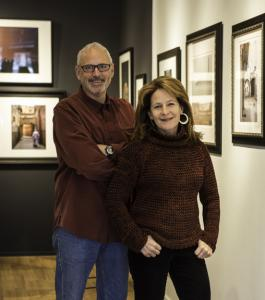 Photographers Richard Mack and Jill Buckner