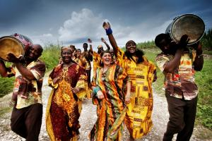 Creole Choir of Cuba. Photo Courtesy of World Music Festival: Chicago. Click image to view photo gallery.