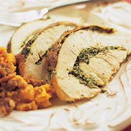 Herbed Roast Turkey. Image Credit: Americau0027s Test Kitchen
