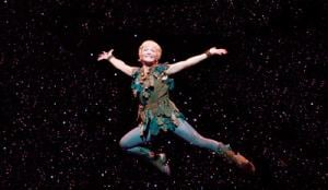 """Cathy Rigby is Peter Pan"""