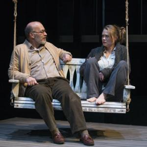 Kevin Gudahl and Chaon Cross (Michael Brosilow) in Proof at the Court Theatre. Courtesy of the Court Theatre.