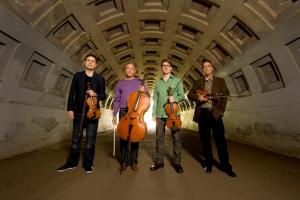 Turtle Island Quartet; photo by Bill Reitzel