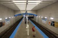 Logan Square Blue Line Station. Platform after photo. Image credit: City of Chicago. Click image to view photo gallery.