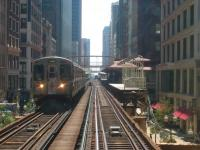 CTA Brown Line. Click image to view photo gallery.