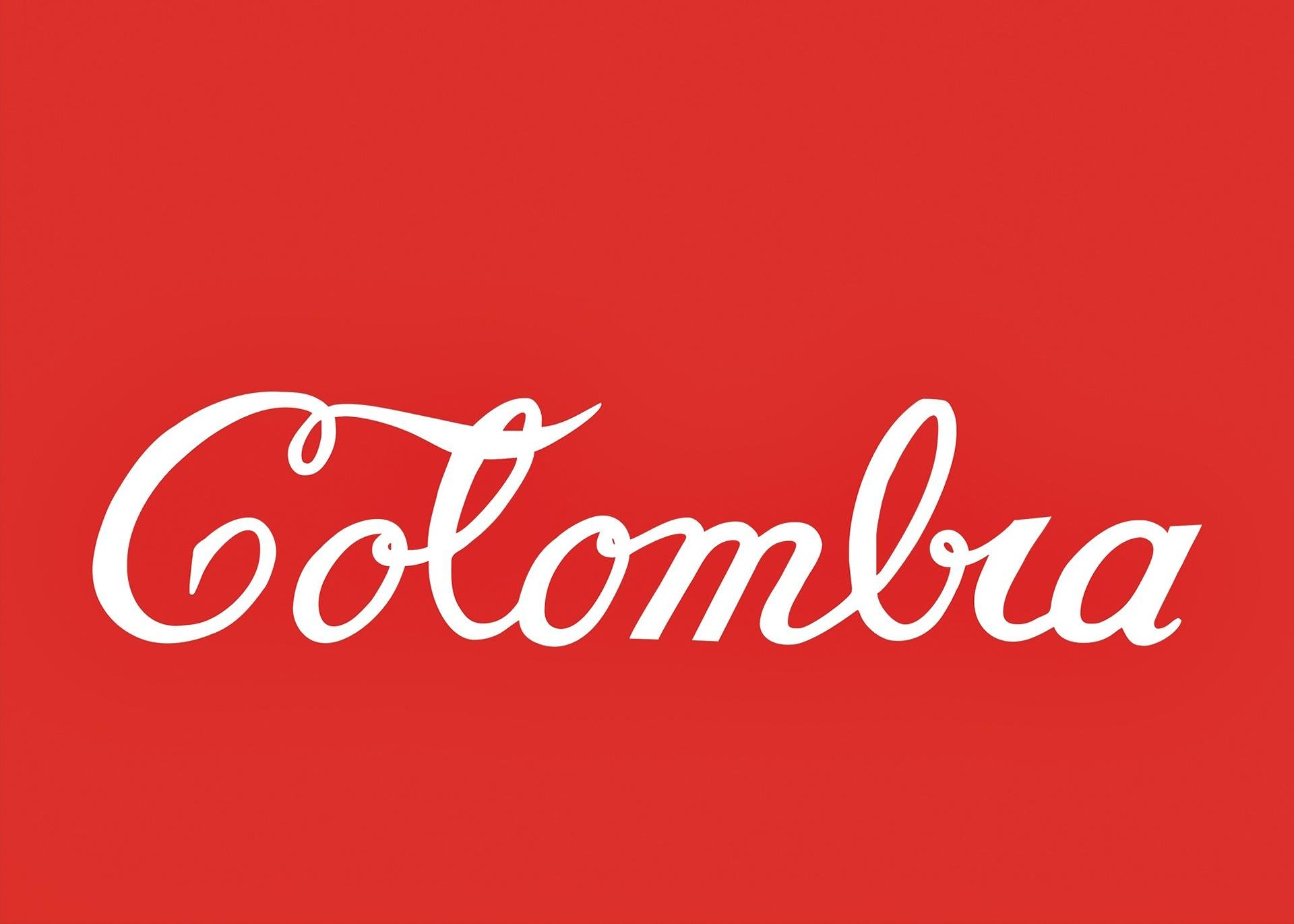 Antonio Caro, Colombia Coca-Cola, 1976. Enamel on sheet metal, edition 11/ 25, 19.5 x 27.5 inches (49.53 x 69.85 x 2.86 cm). Collection of the MIT List Visual Arts Center, Cambridge, Massachusetts. Purchased with funds from the Alan May Endowment. Image courtesy of the artist and Casas Riegner, Bogota, Colombia. © Antonio Caro.