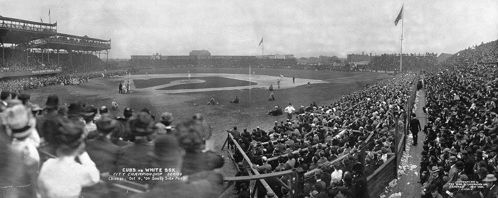 Cubs vs. White Sox City Championship Series, October 1909