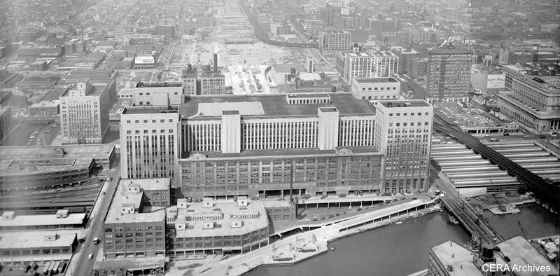 Ask Geoffrey Which Came First Eisenhower Or Old Main Post Office Chicago Tonight Wttw