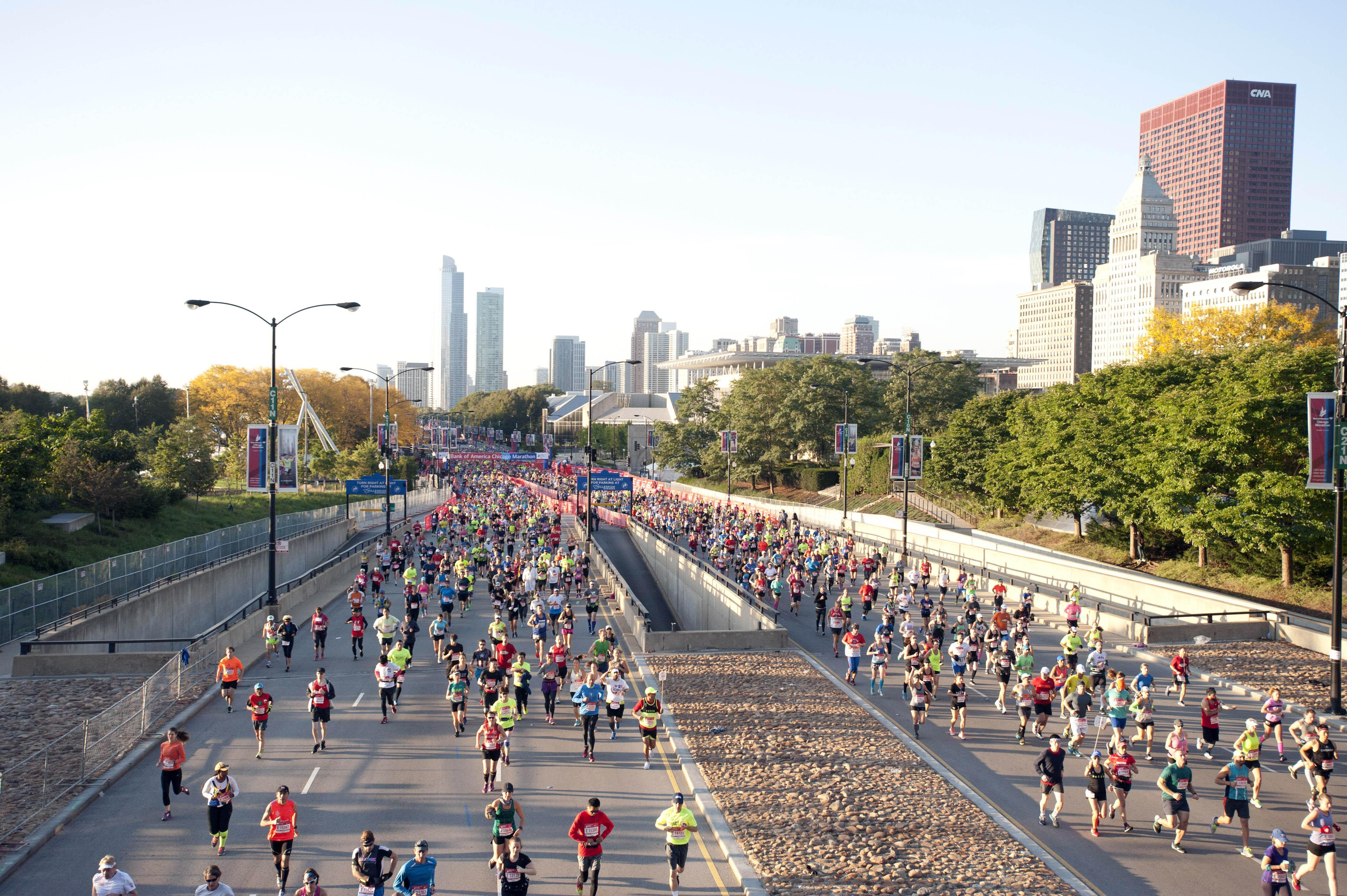 2016 Bank of America Chicago Marathon (Credit:  Bank of America Chicago Marathon)