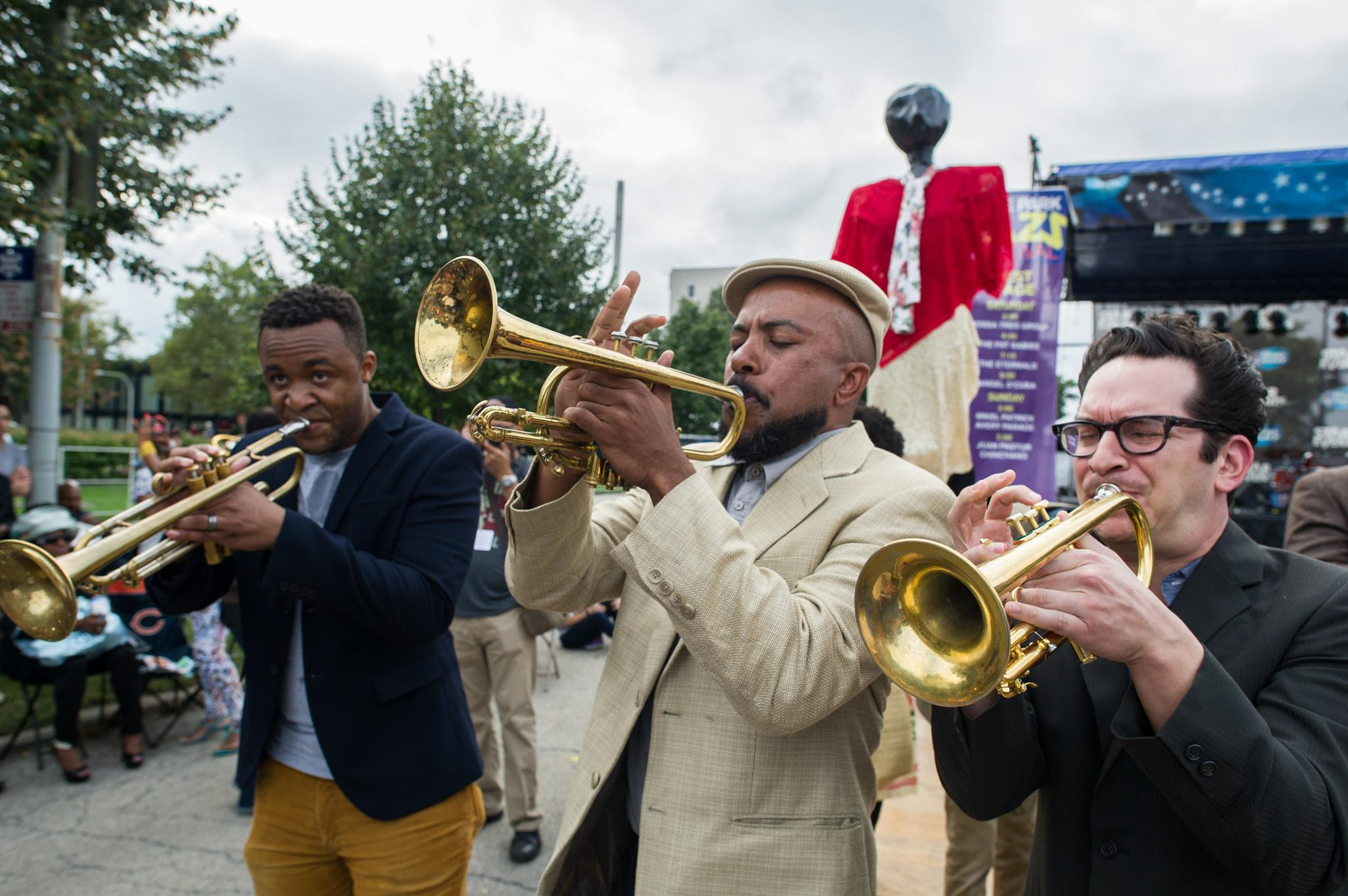 Sound the horns: The 10th annual Hyde Park Jazz Festival returns. (Marc Monaghan / Flickr)