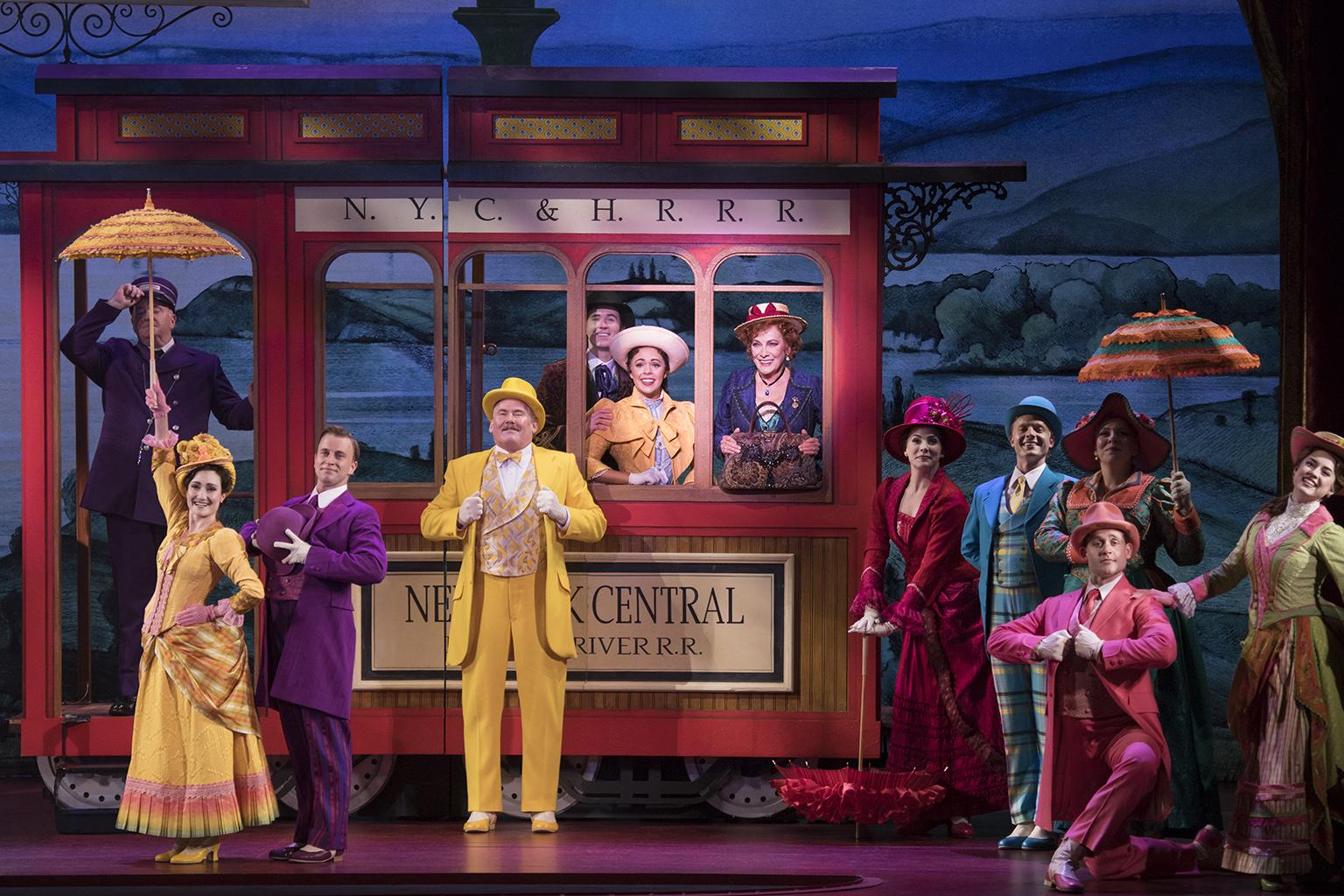 """Hello, Dolly!"" National Tour Company – 2018. (Photo credit: Julieta Cervantes)"