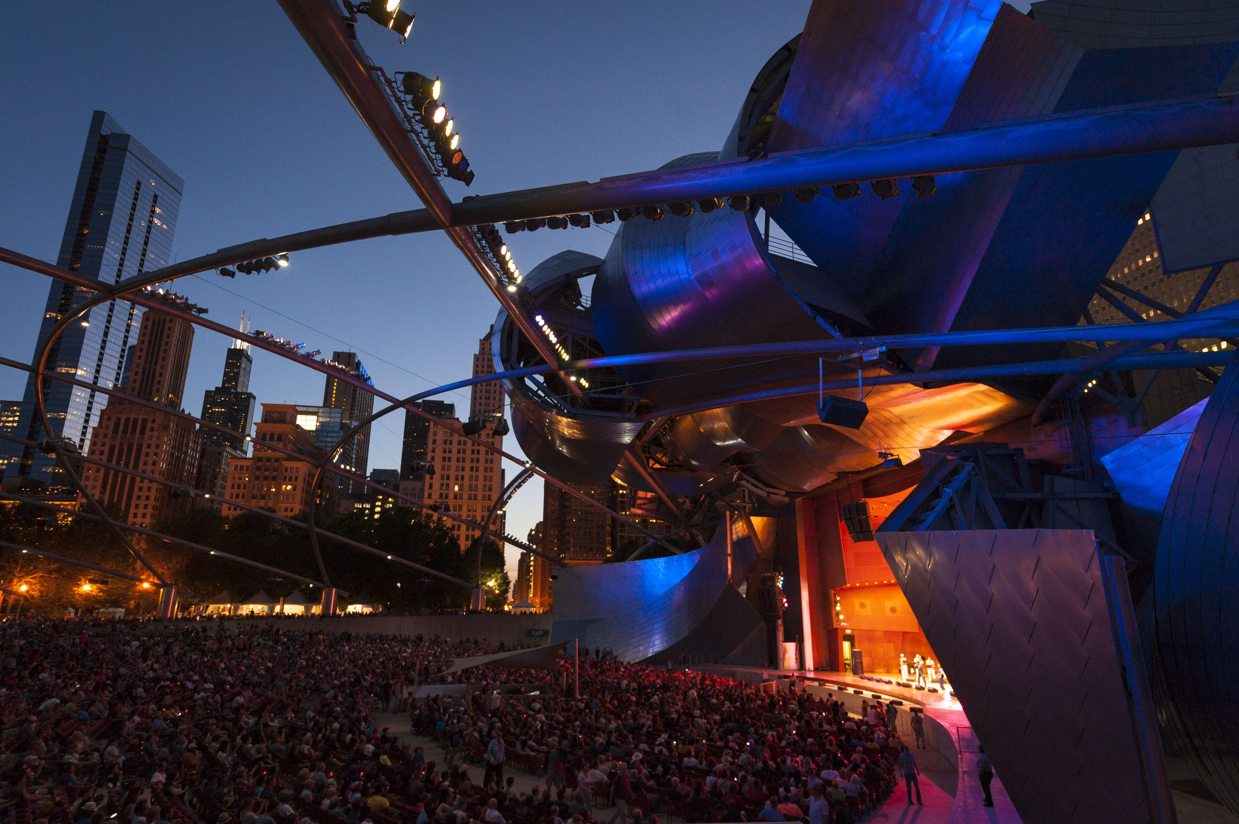 2017 Chicago Blues Festival in Millennium Park (Photo credit: City of Chicago, DCASE)