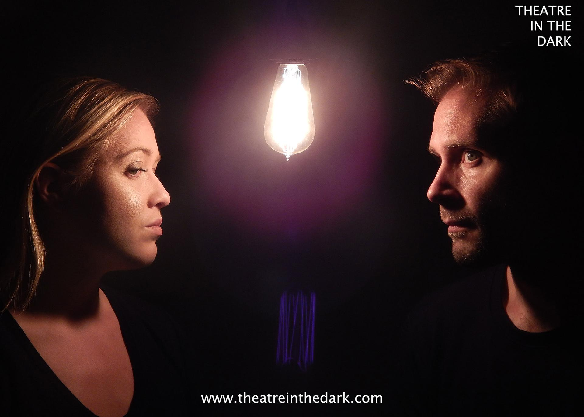 "Bethany Arrington (left) and Mackenzie Gordon in Theatre in the Dark's ""Three Stories Up."" (Photo by Zachary Parkhurst)"
