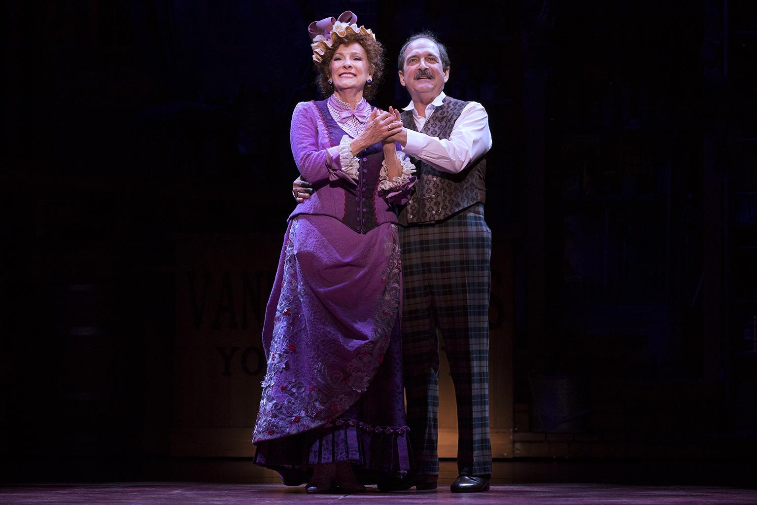"Betty Buckley and Lewis J. Stadlen in ""Hello, Dolly!"" (Photo credit: Julieta Cervantes)"