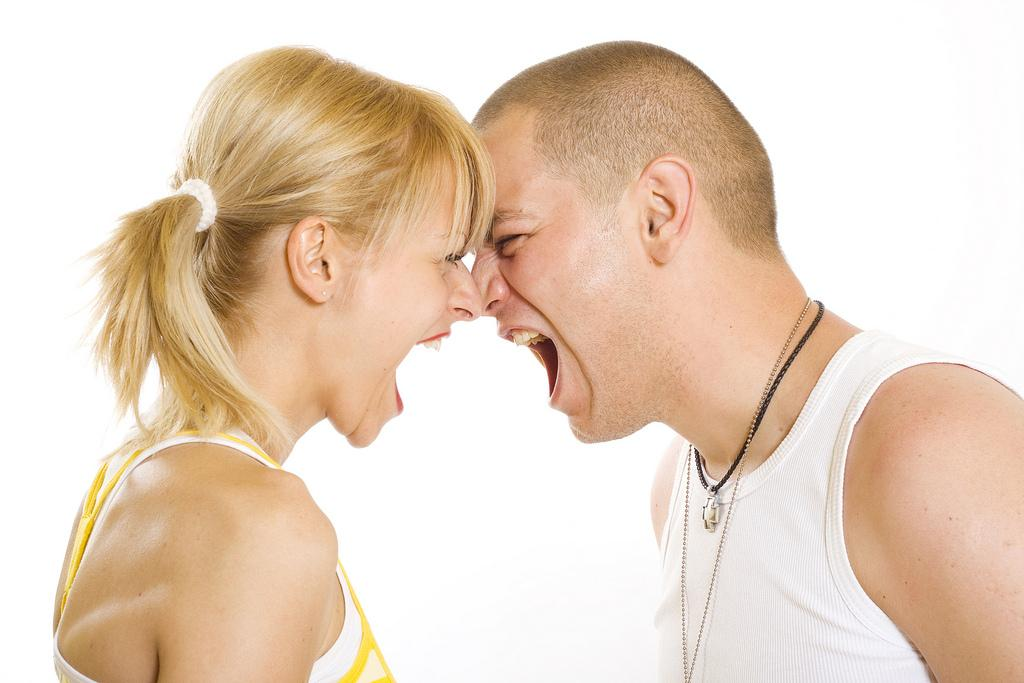 """Past research shows that anger is linked to this state of heightened cardiovascular arousal, things like increases in blood pressure and heart rate, and chest pain"" said Claudia Haase, lead author of a study analyzing the interpersonal emotional behavior of married couples and its impact on health. (Vic / Flickr)"