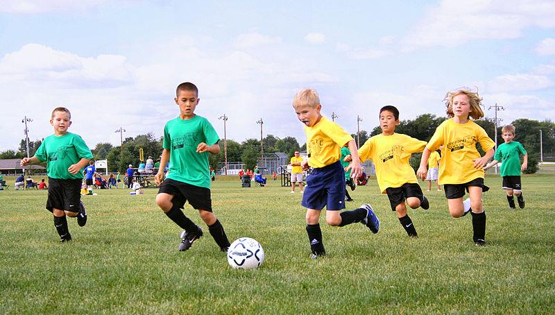 Parents should help facilitate children's involvement in physical activity, such as signing them up for soccer, Unger says.