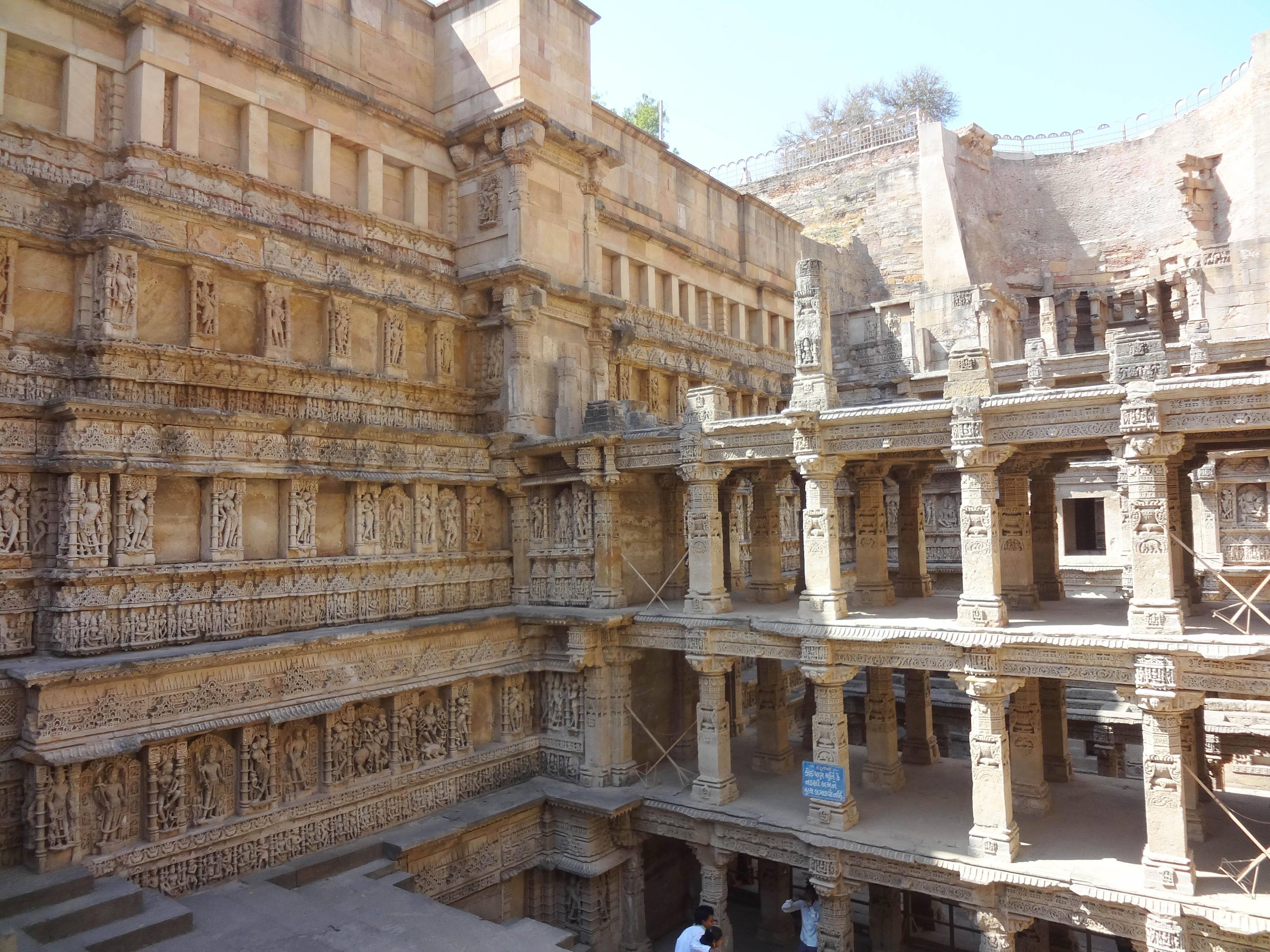 Rani ki vav (The Queen's Well) is now a UNESCO World Heritage Site. (Courtesy of Victoria Lautman)