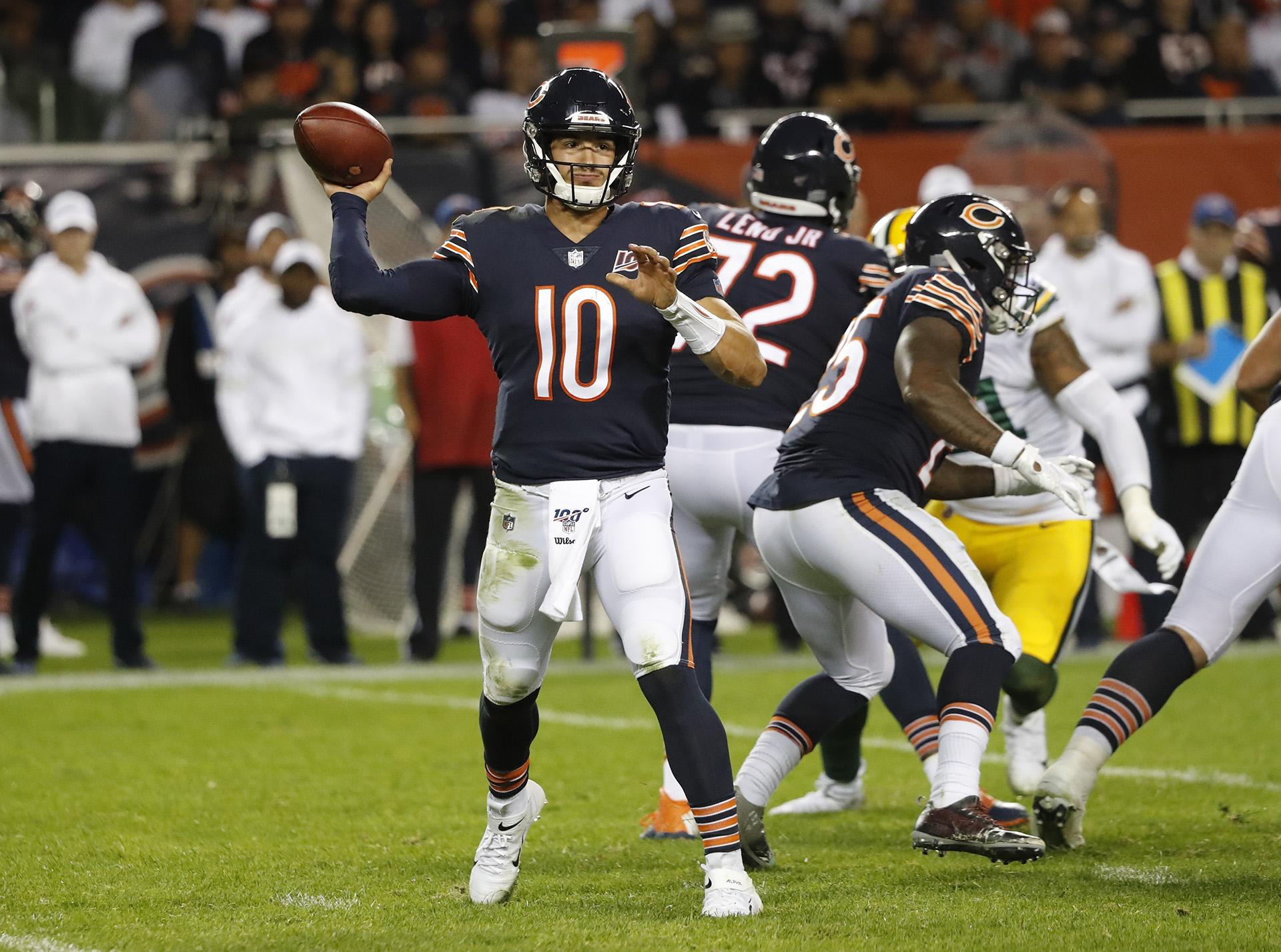Bears Offense Struggles In Opening Loss To Packers