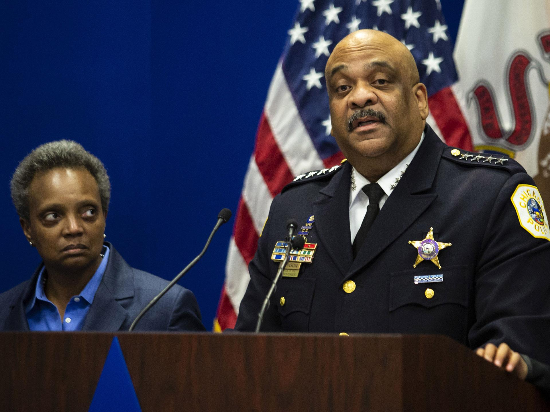 chicago police news conference