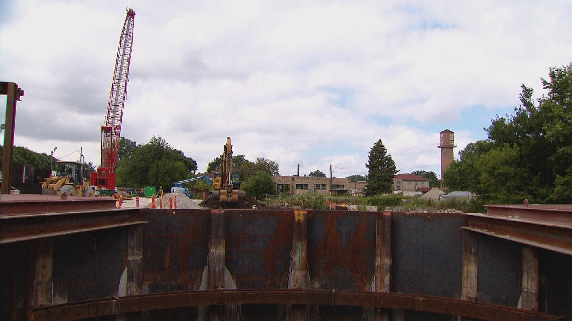 Construction on the Albany Park Stormwater Diversion Tunnel began in 2016 and was finished last year.