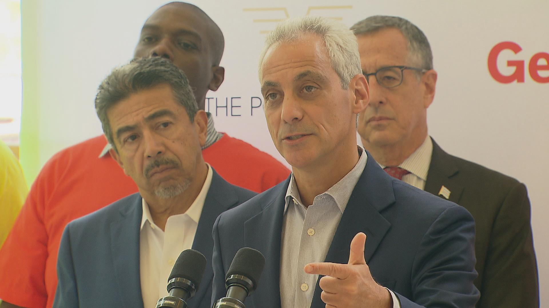 "Amazon wants ""to be ready for business on day one,"" said Mayor Rahm Emanuel."