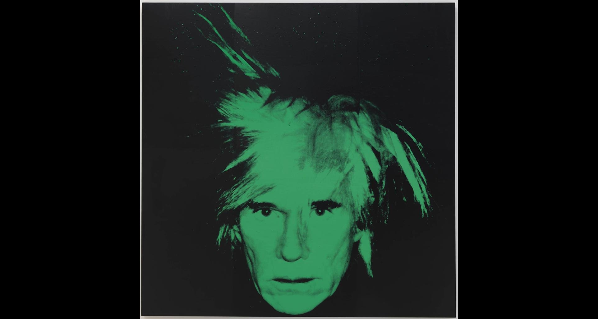 "Andy Warhol. ""Self-Portrait,"" 1986. Solomon R. Guggenheim Museum, New York; gift, Anne and Anthony d'Offay in honor of Thomas Krens. © 2019 The Andy Warhol Foundation for the Visual Arts, Inc. / Artists Rights Society (ARS), New York."