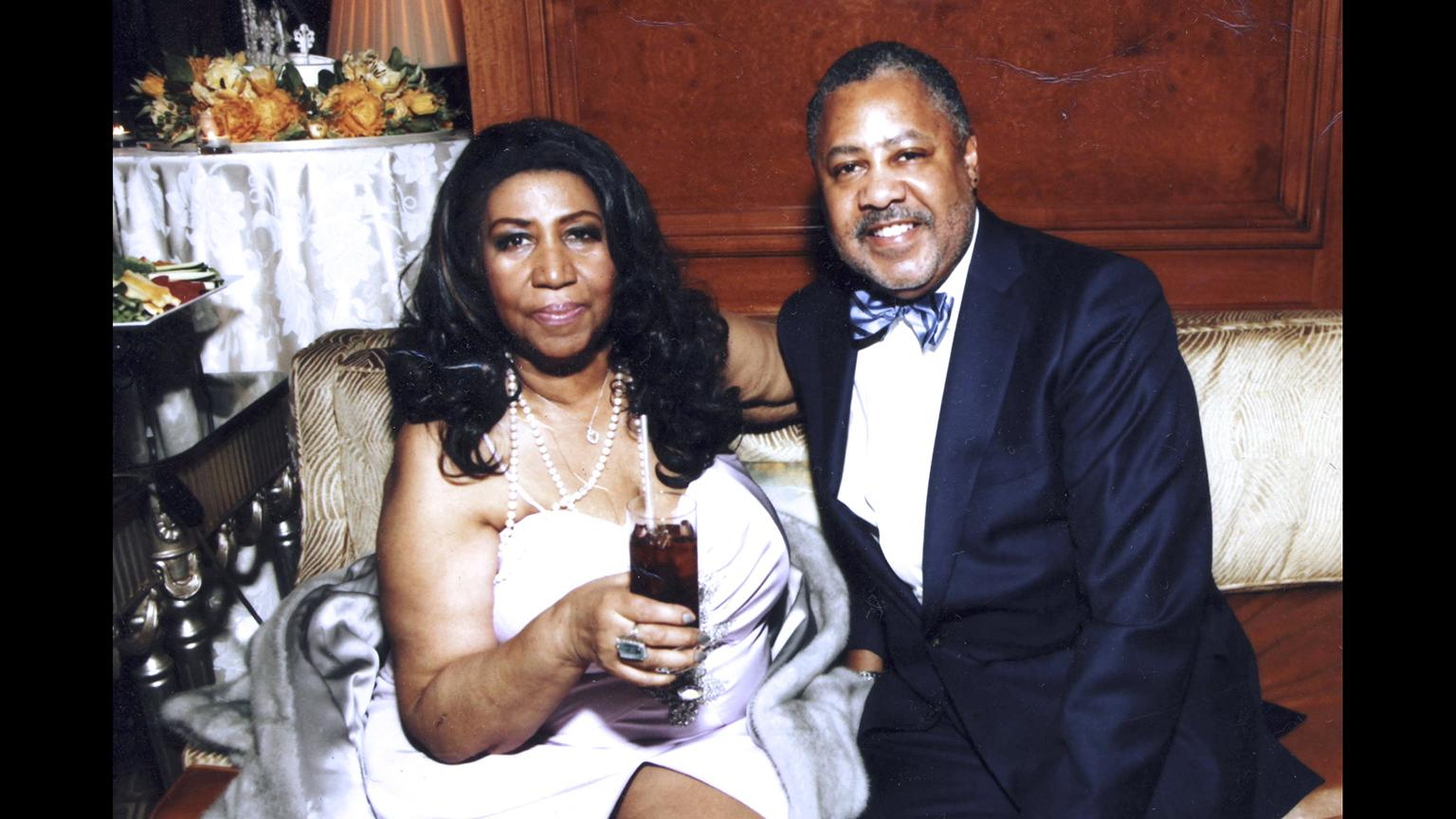 Fred Nelson III, right, served as Aretha Franklin's music director and conductor from 2011 until her death on Aug. 16, 2018. (Courtesy Fred Nelson III)