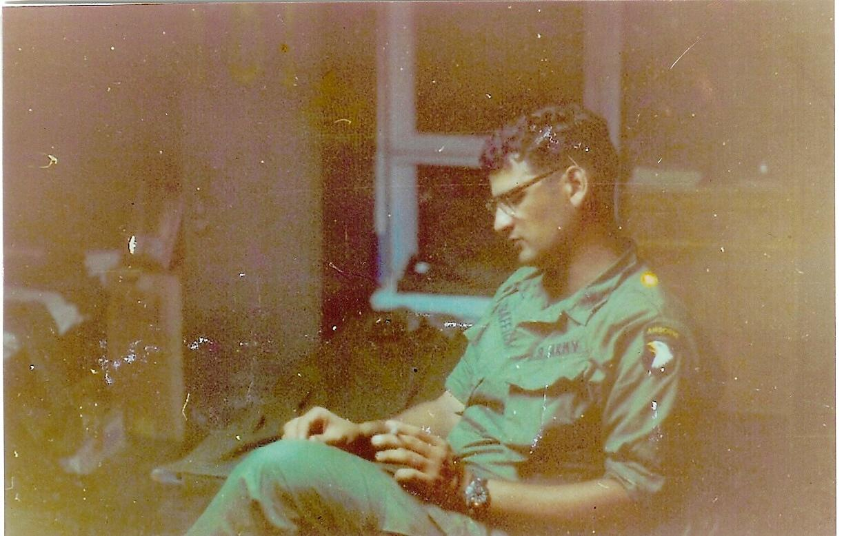 Paul Baffico served with the 101st Airborne in Vietnam from 1970 to '71. (Courtesy of Paul Baffico)