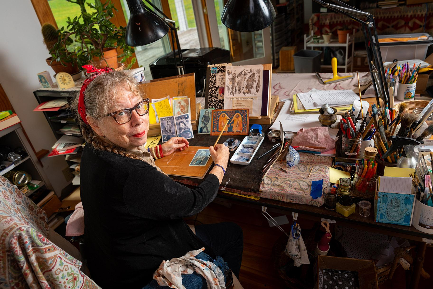 Lynda Barry (Credit: John D. & Catherine T. MacArthur Foundation)