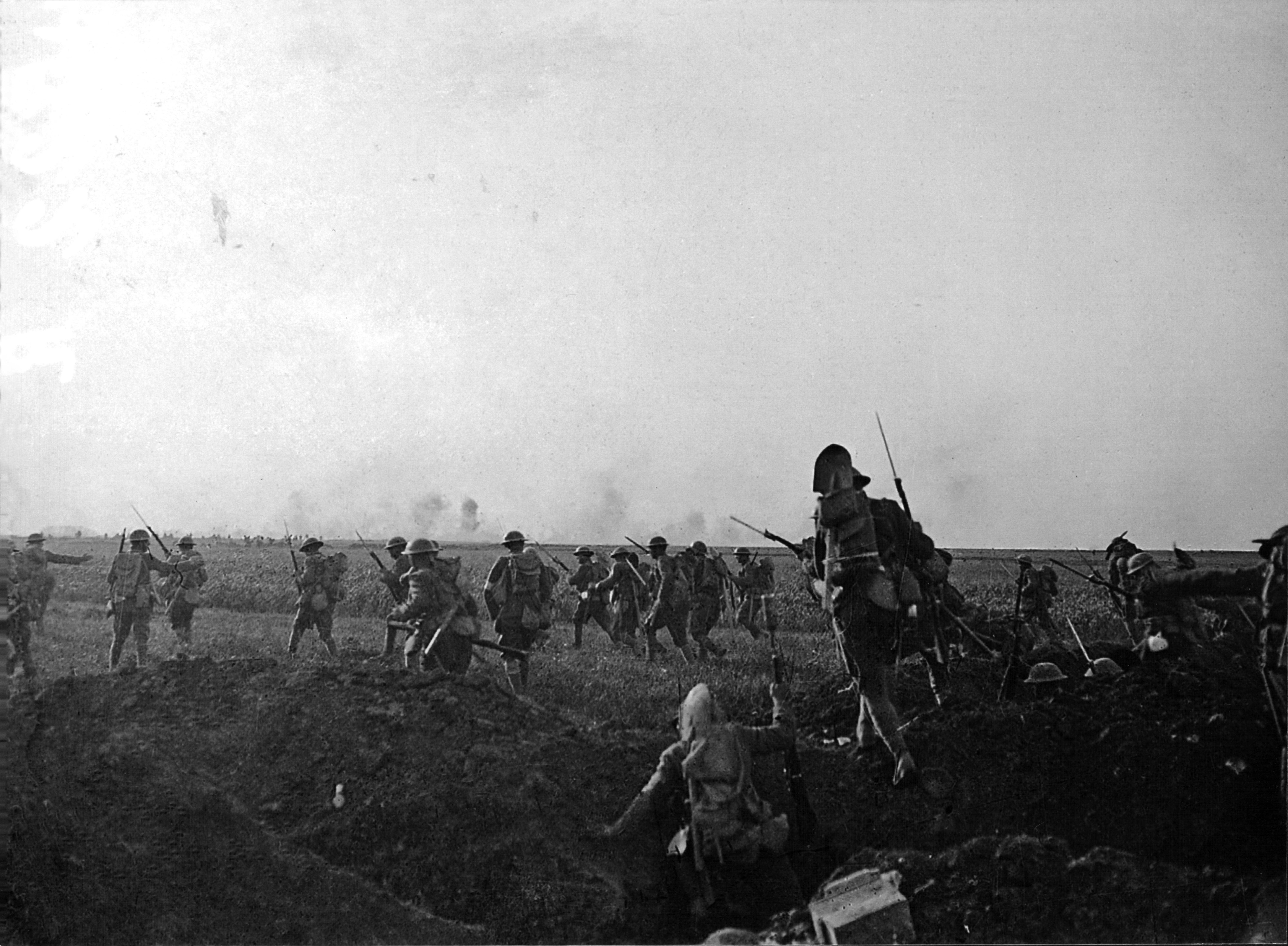 The Battle of Cantigny took place May 28-31, 1918.