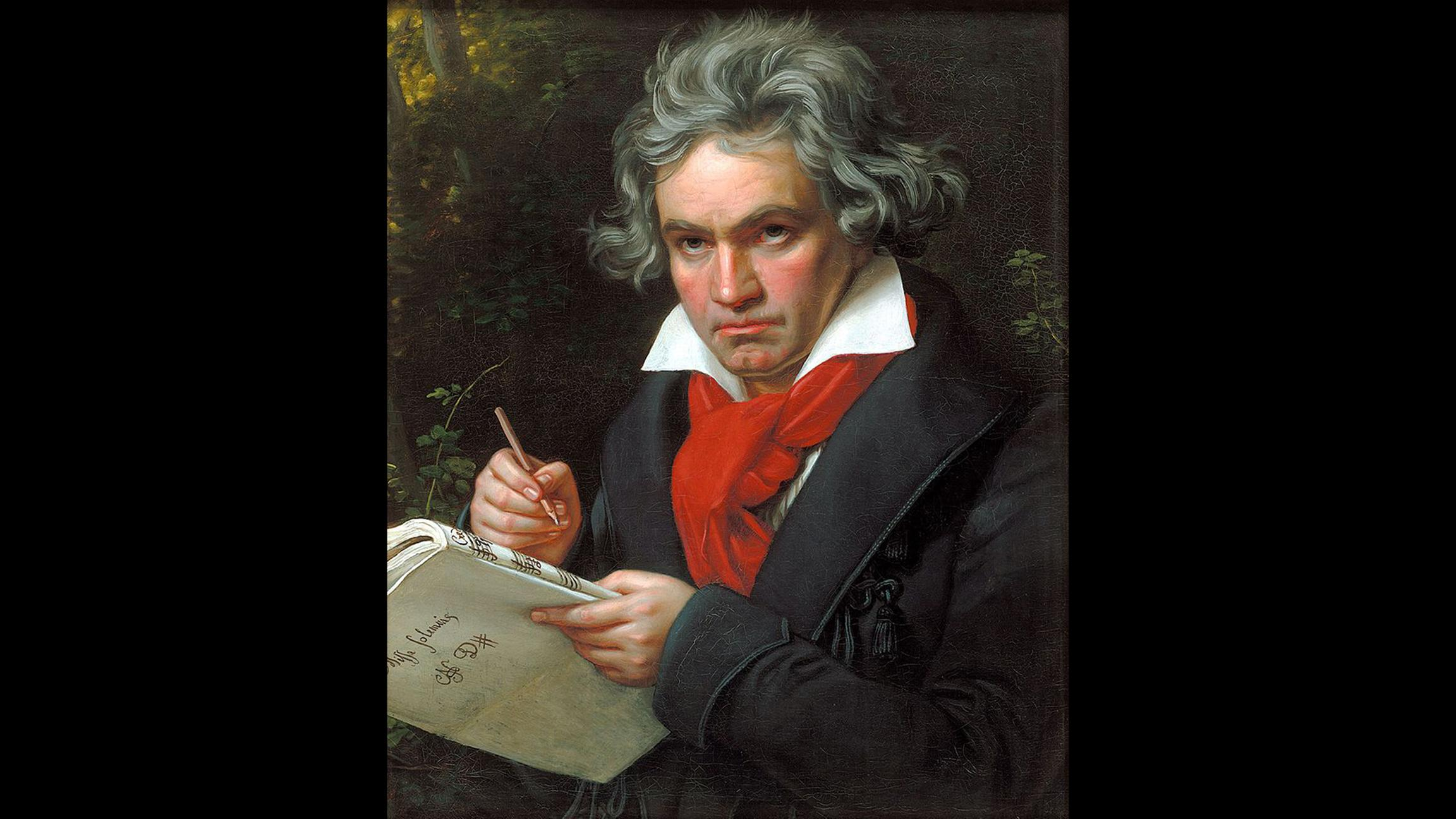 Yet he doesn't look a day over 200: Celebrate Beethoven's 246th birthday Friday.