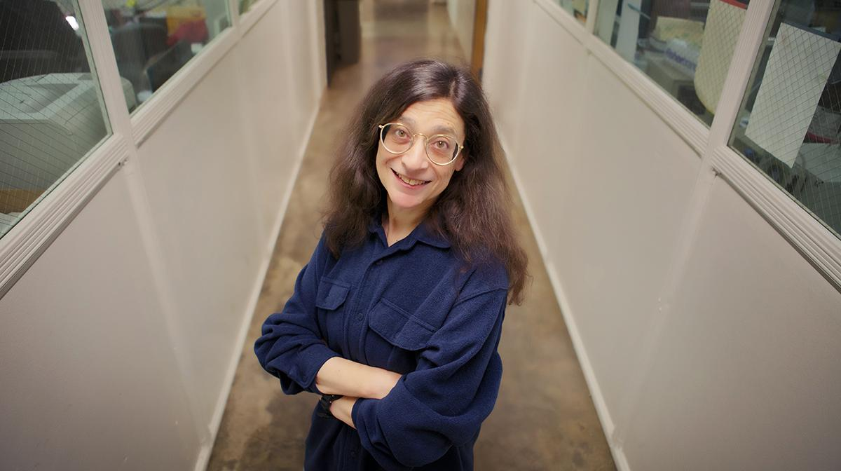Dr. May Berenbaum, professor of entomology and head of the Department of Entomology at the University of Illinois (Courtesy University of Illinois)