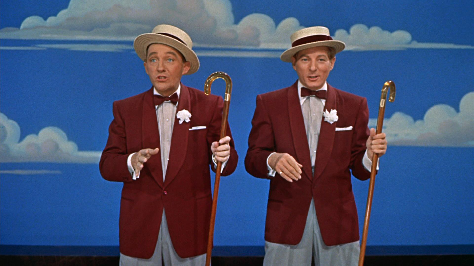 "Bing Crosby and Danny Kaye in ""White Christmas."" (Wikimedia Commons)"