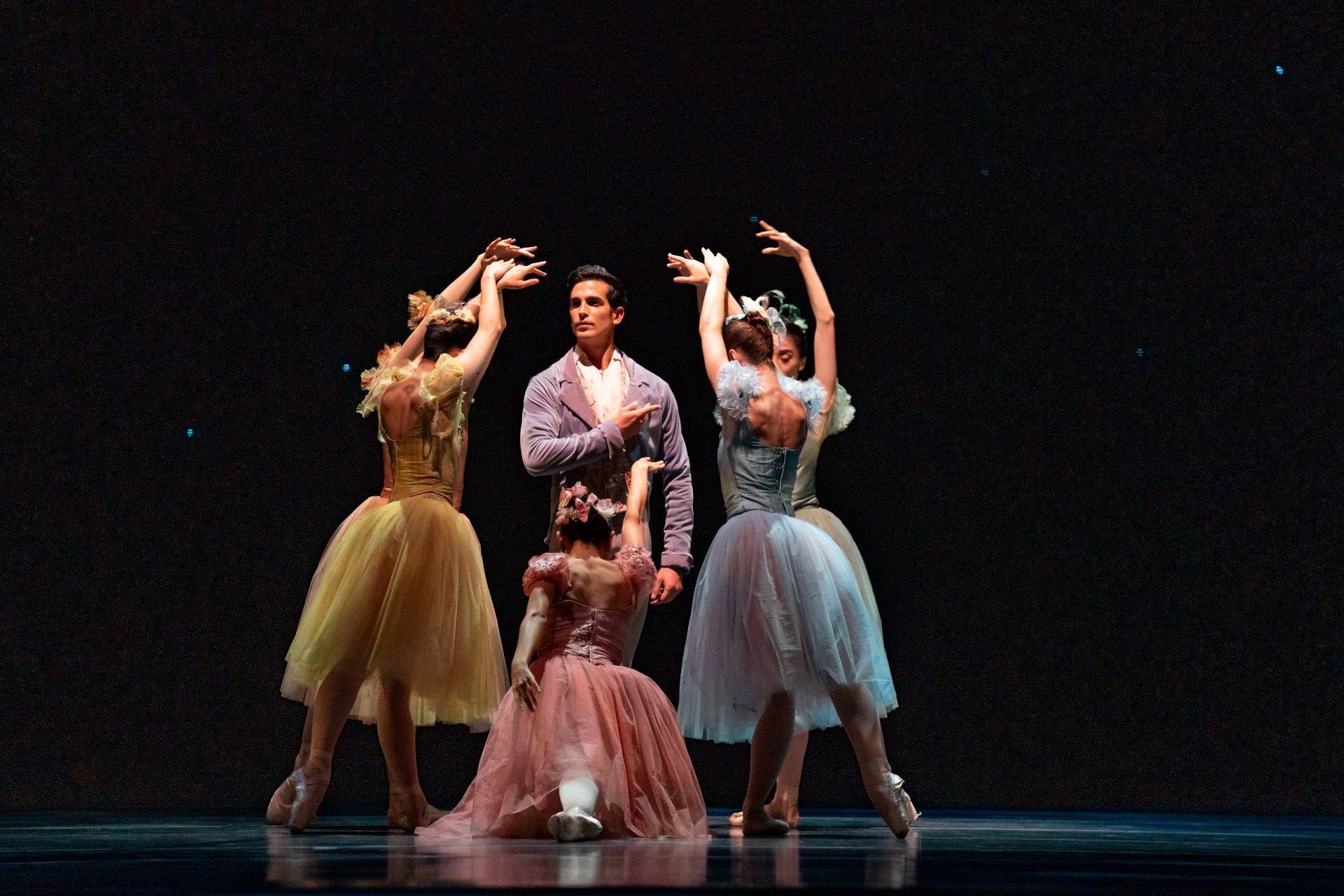 "Alberto Velaquez performs in ""Birthday Variations."" (Photo by Cheryl Mann)"