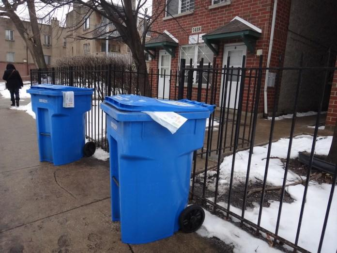 Chicago Recycling, Garbage Pickup Schedules Now Available