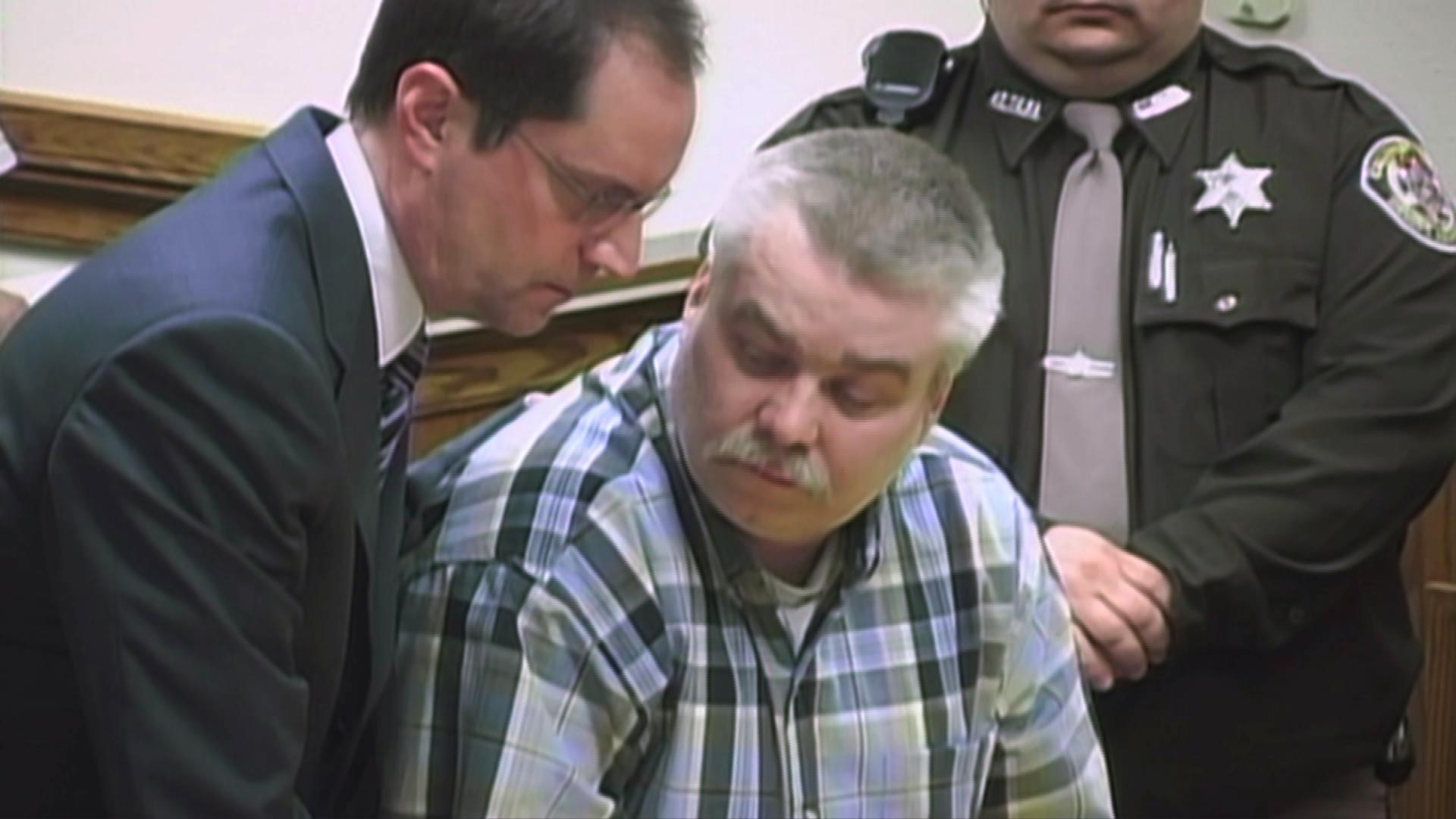 Jerry Buting, left, and Steven Avery. (Courtesy of Netflix)
